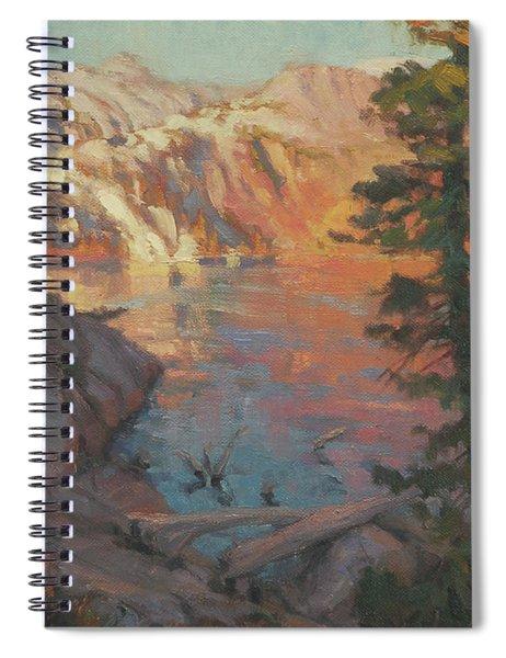 First Light Wilderness Spiral Notebook