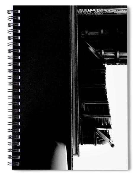 First Line Days Spiral Notebook