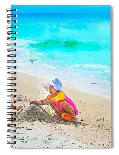 First Sand Castle Spiral Notebook