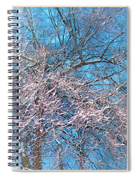 First Snow At Dawn Spiral Notebook