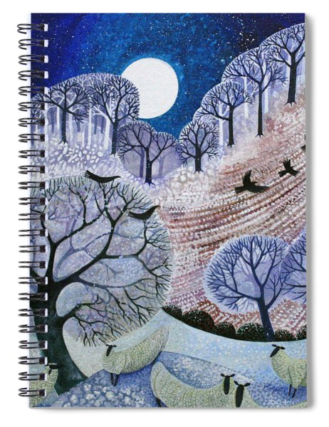 First Snow Surrey Hills Spiral Notebook