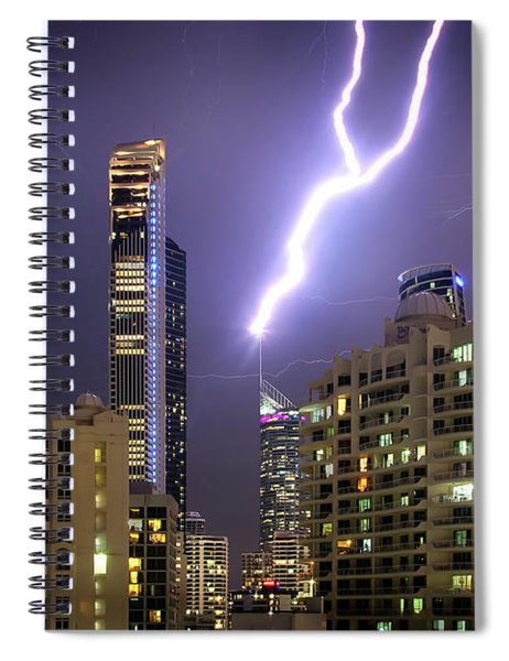 First Strike Spiral Notebook