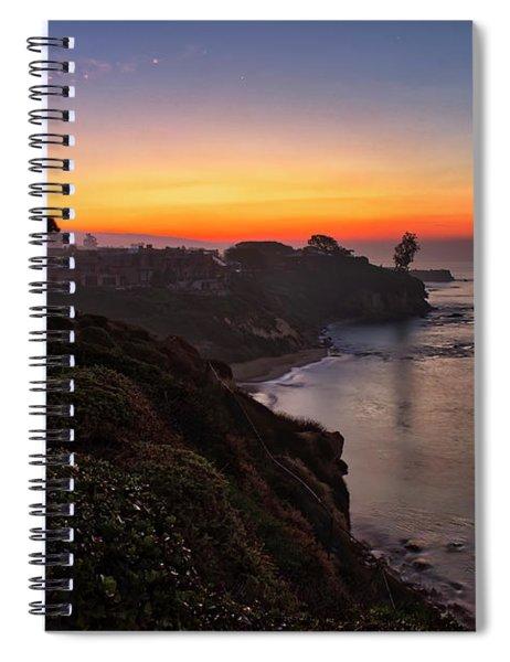 First Sunrise Of 2018 Spiral Notebook