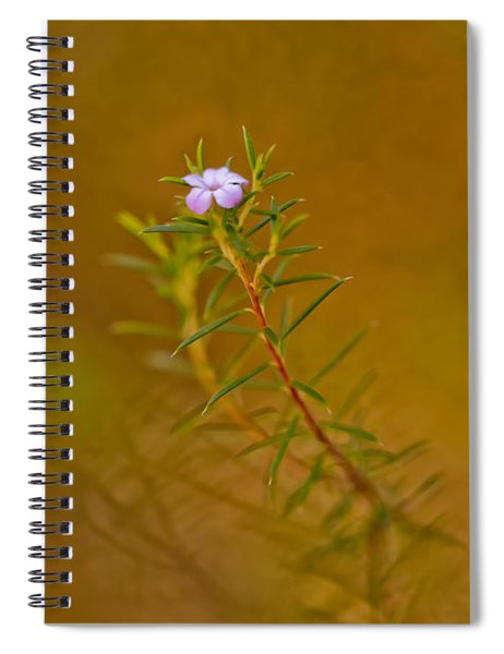 First To Flower Spiral Notebook