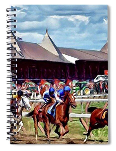 First Turn Saratoga Spiral Notebook