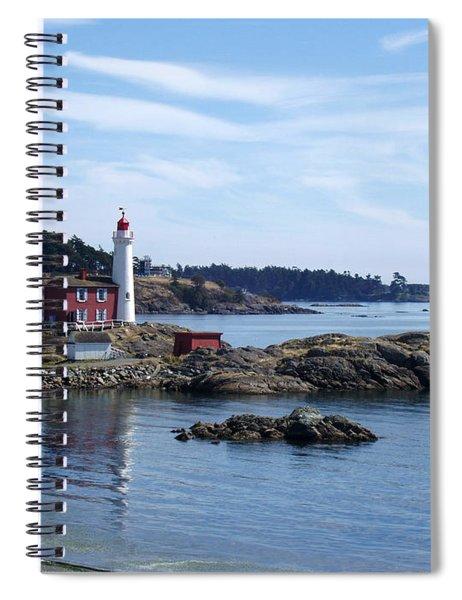 Fisgard Lighthouse Shoreline Spiral Notebook