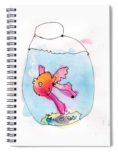 Fish Spiral Notebook