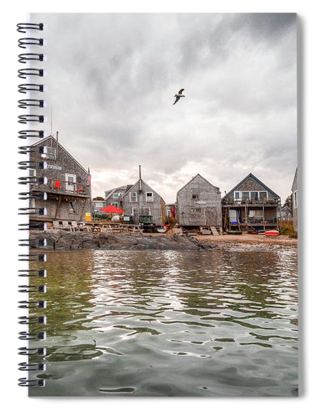 Fish Beach Spiral Notebook
