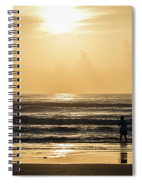 Fisherman Spiral Notebook
