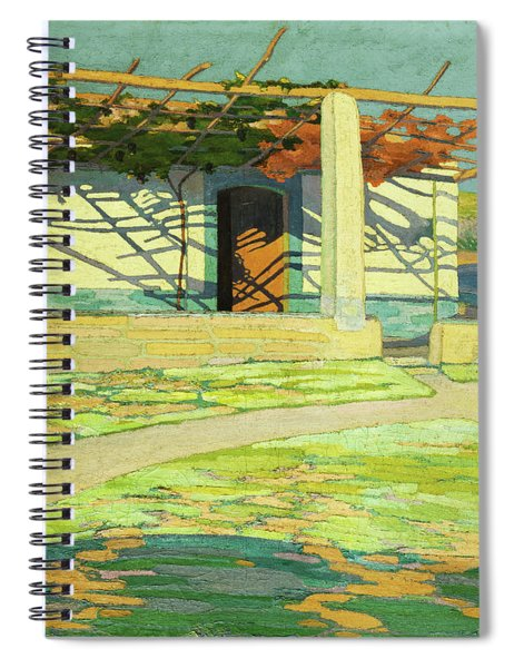 Fisherman's House, Puerta Pollensa Spiral Notebook