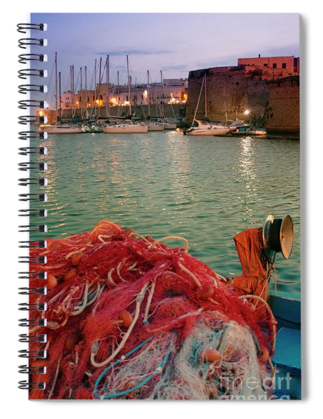 Fisherman's Net Spiral Notebook