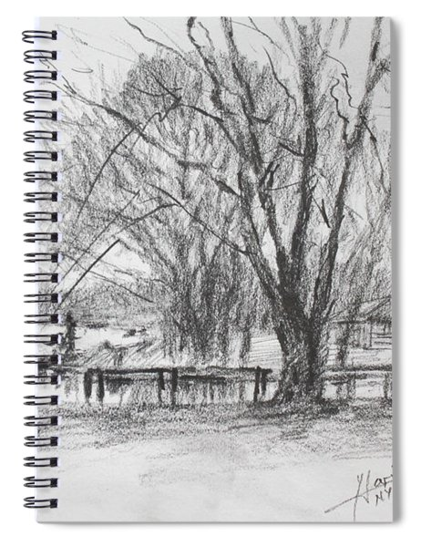 Fisherman's Park Spiral Notebook