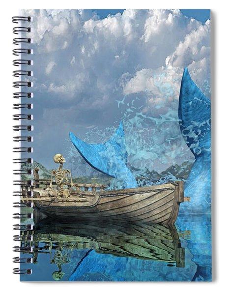 Fisherman's Tale Spiral Notebook