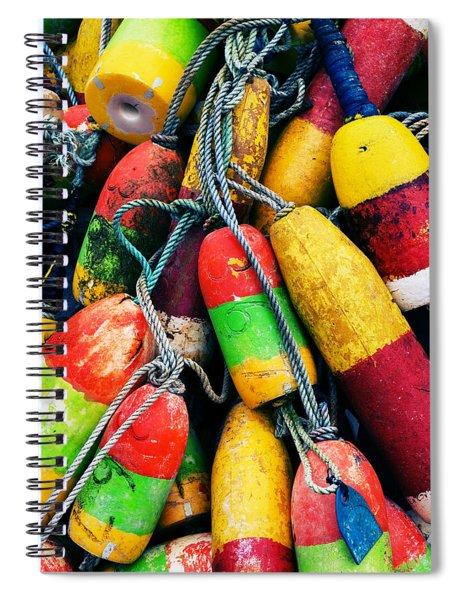 Fishermen's Floats Spiral Notebook