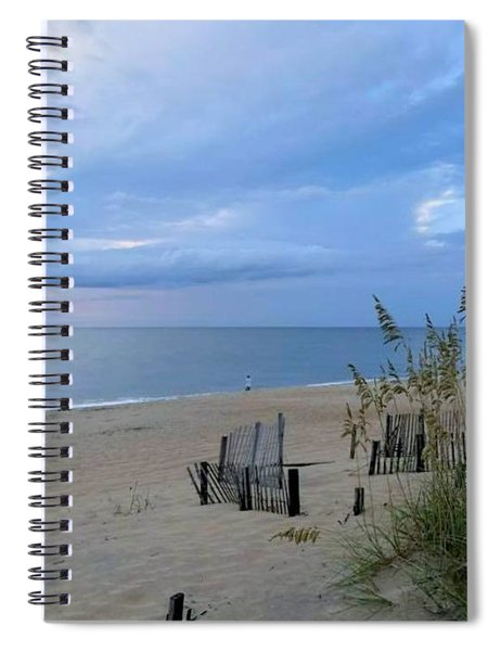 Fishing At Fish Heads 8/19 Spiral Notebook