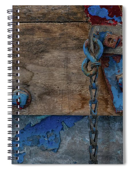 Spiral Notebook featuring the photograph Fishing Boat 5 by Heather Kenward