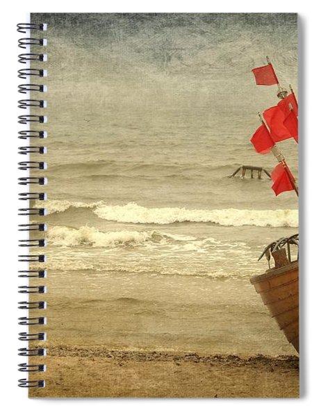 Fishing Boat Still Life Spiral Notebook