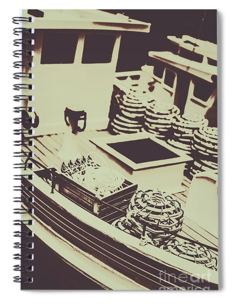 Fishing Fleet Spiral Notebook