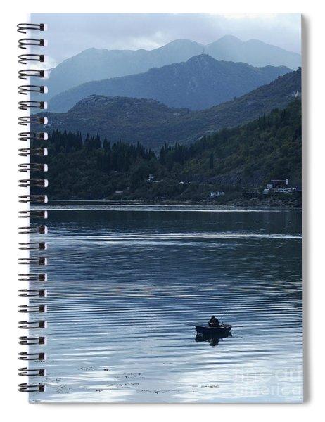 Fishing - Lake Skada Spiral Notebook