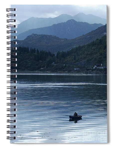 Fishing - Lake Skada Spiral Notebook