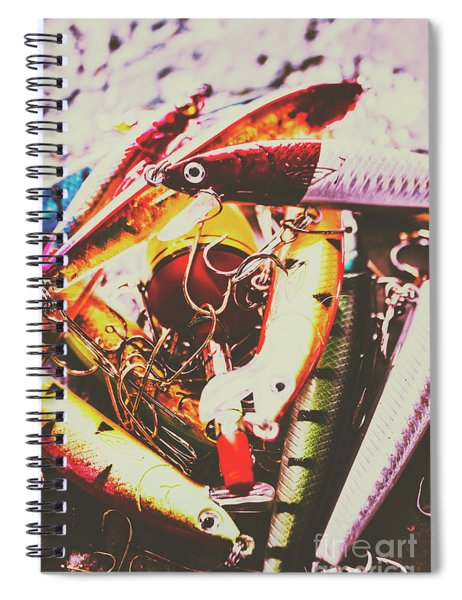 Fishing Lures Spiral Notebook