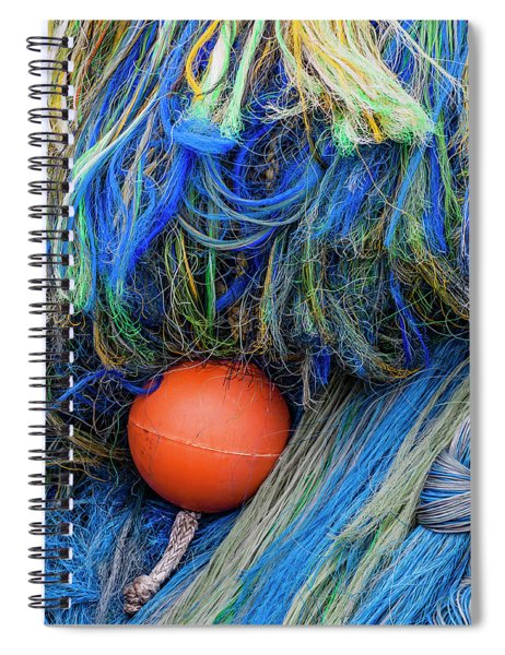 Fishing Nets And Buoy Spiral Notebook