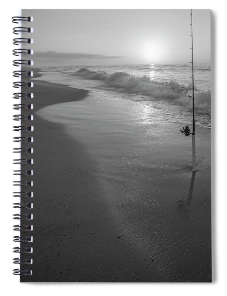 Fishing On The Shore  Spiral Notebook