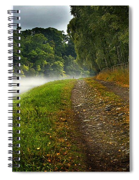 Fishing The River Beauly Spiral Notebook