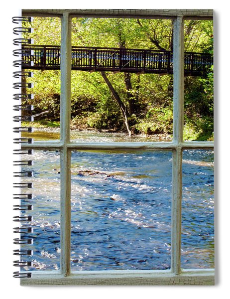 Fishing Window Spiral Notebook