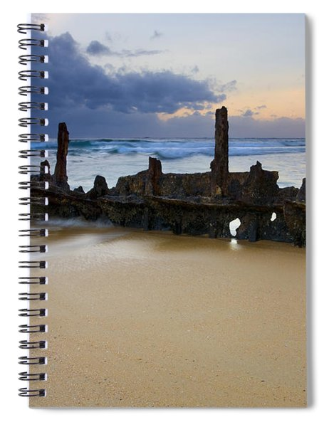 Fishing With History Spiral Notebook