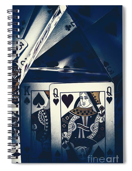 Fit For A King And Queen Spiral Notebook