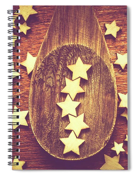 Five Stars Quality Food Service  Spiral Notebook