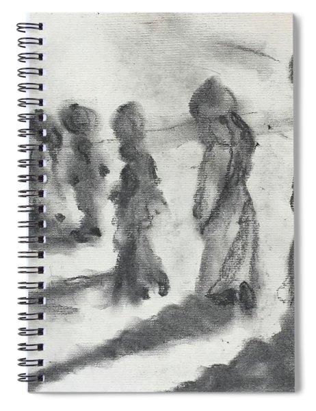 Five Women Immigrants Spiral Notebook