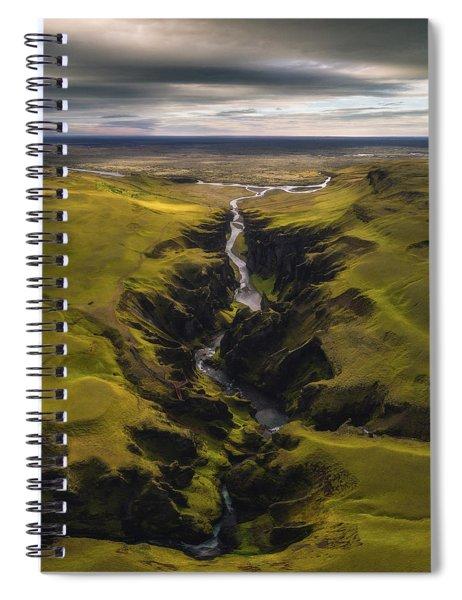 Fjadrargljufur Spiral Notebook