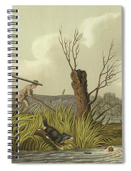 Flacker Shooting Spiral Notebook