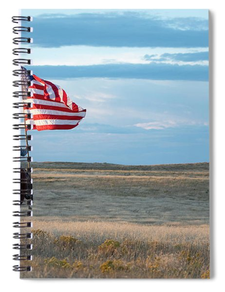 Flag Of Freedom Spiral Notebook