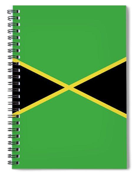 Flag Of Jamaica Spiral Notebook