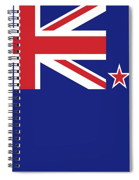 Flag Of New Zealand Spiral Notebook