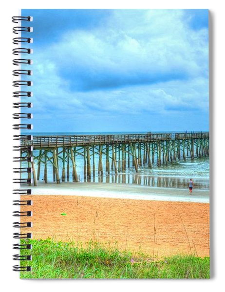 Flagler Beach Spiral Notebook