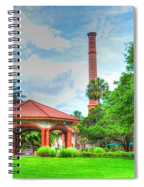 Flagler College Campus Spiral Notebook