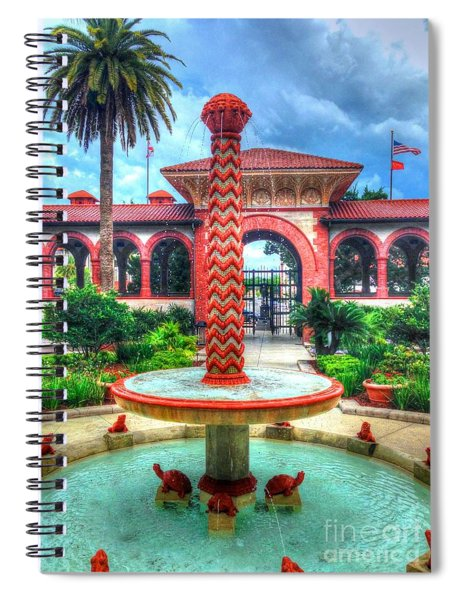Flagler College Fountain Spiral Notebook