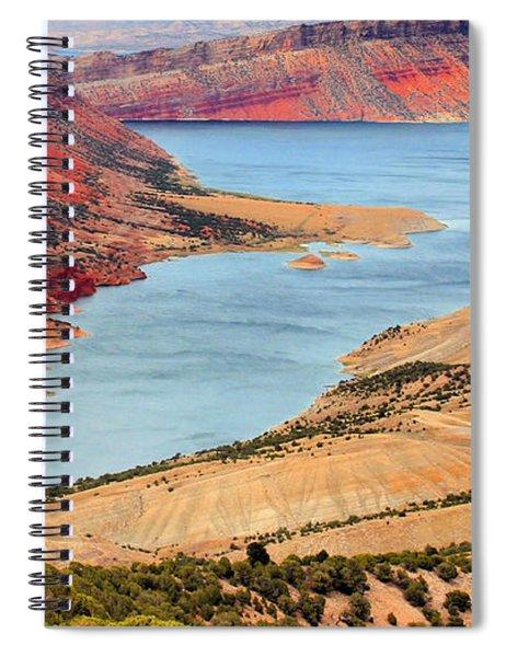 Flaming Gorge Spiral Notebook