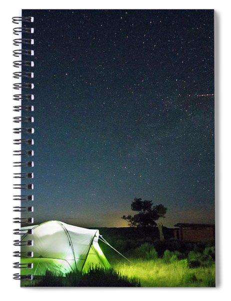 Flaming Sky Spiral Notebook