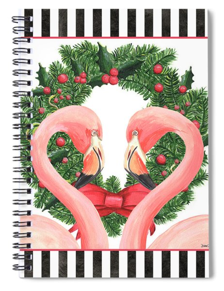 Flamingo Amore 1 Spiral Notebook