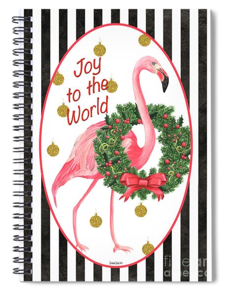 Flamingo Amore 2 Spiral Notebook