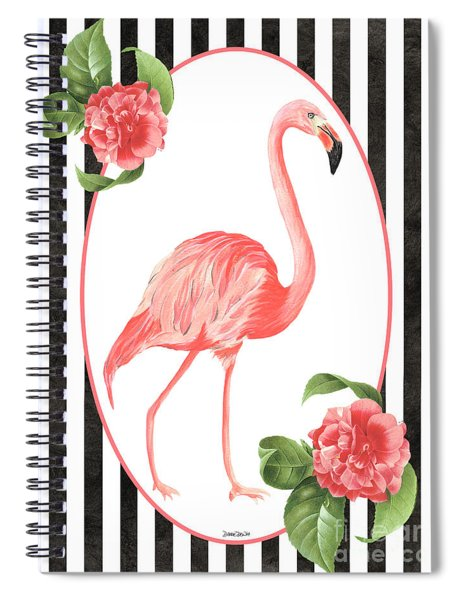 Flamingo Amore 6 Spiral Notebook
