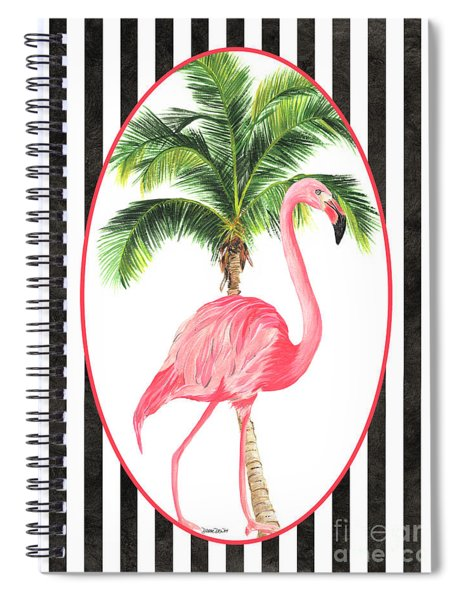 Flamingo Amore 7 Spiral Notebook