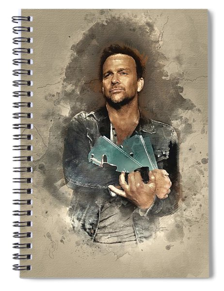 Flanery And Jane Spiral Notebook