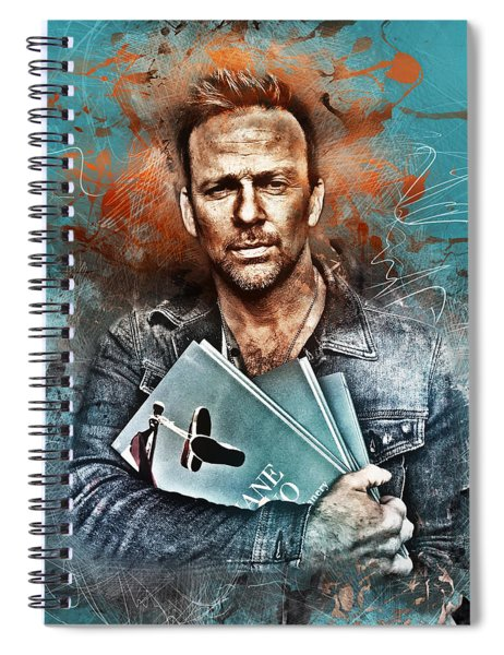 Flanery's Love Story Spiral Notebook