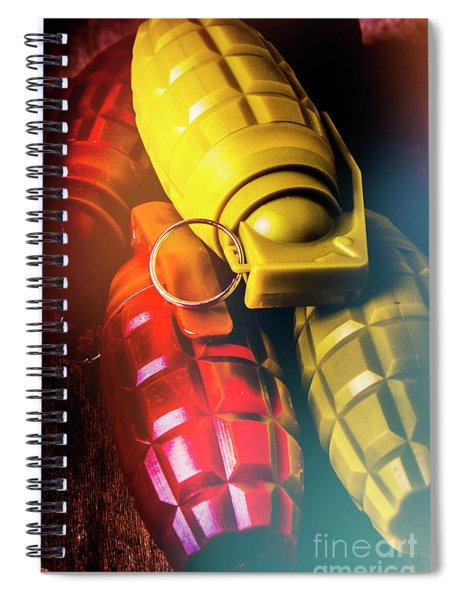 Flare The Explosive Shakeup Spiral Notebook
